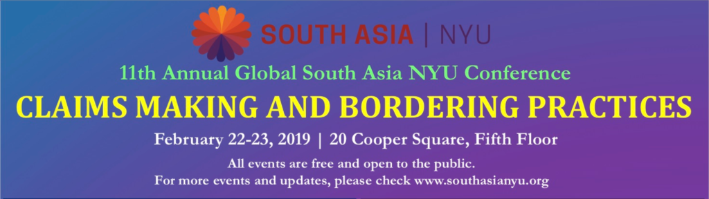 Archives: Events | South Asia at NYU